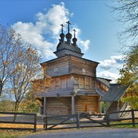 Церковь Святого Георгия Победоносца в Коломенском :: Константин Анисимов