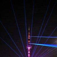 Лазерное шоу в Шанхае, :: Анатолий