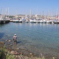 Рыбак и море,Гюмбет,Турция :: tgtyjdrf
