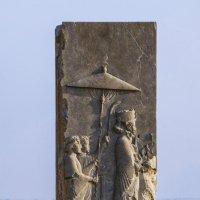 Трипилон, разграбленный барельеф царя :: Георгий А
