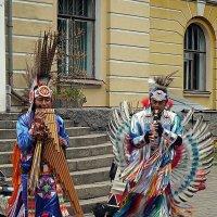 Музыкальные индейцы :: Ольга И