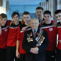 Ветеран среди спортсменов :: Валерий