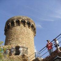 Крепость в Тоссе, Испания :: Lüdmila Bosova (infra-sound)