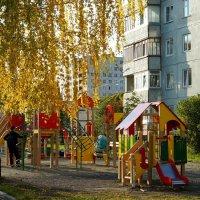 Осенняя игровая детская площадка :: Зинаида Каширина