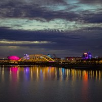 Вид на мост р.Ишим :: Sergey Prussakov
