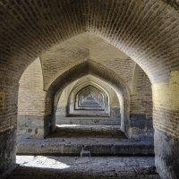 под мостом Хаджу, г. Исфахан :: Георгий А