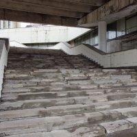 Лестница Олимпийского стадиона в Москве :: Игорь Белоногов
