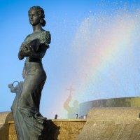 Радуга в фонтане :: SVetlana Veter