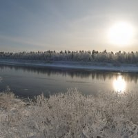 Сковал морозец речку !!! :: Олег Кулябин