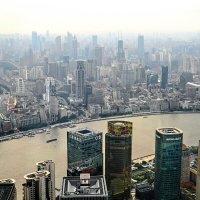 Вид на Шанхай с 97 этажа, :: Анатолий