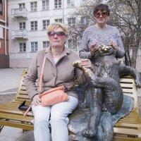 Скульптура «Йошкин кот»  в Йошькар-оле. :: Сергей Поникаров