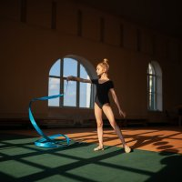 Гимнастка :: Надежда Антонова
