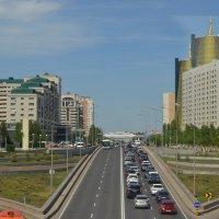 Город,в движение...Было в Астане... :: Георгиевич
