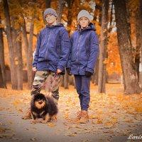 Осенняя прогулка :: Larisa Freimane