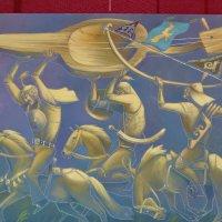 Картина из народной жизни...Байга и музыка степей... :: Хлопонин Андрей Хлопонин Андрей