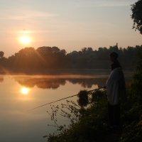пара на рыбалке... :: Дарина Нагорна