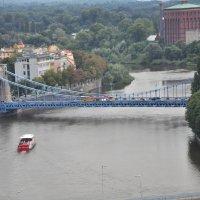 Грюнвальдский мост во Вроцлаве :: Александр Матвеев