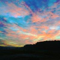 Розовые облока :: юрий Амосов