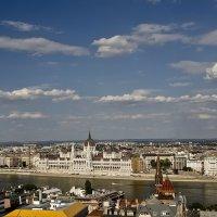 Будапешт с высоты птичьего полета... :: Екатерина Мелешина
