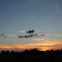 Закатное сиянье облаков :: Влад Ложкин