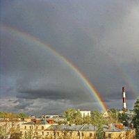 Вид из окна с дома на Рабфаковском. (Питер - Троицкое). :: Sergey Serebrykov