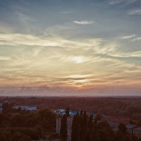 Закат на крыше :: Андрей Поспелов