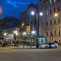 Вечер в городе :: Олег Попков