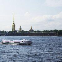 На подводных крыльях :: Valerii Ivanov