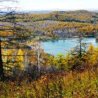 Вид на озеро Морскалы с горы. :: Александр Садовский