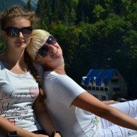 На озере Рица :: Ирина Емельянова