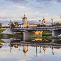 Церковь Архангела Михаила со  стороны р. Коломенки :: Igor Yakovlev