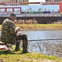 Городская рыбалка. :: Виктор Евстратов