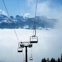 Подъёмник  в  Альпах (  Швейцария)  2011г. :: АЛЕКС