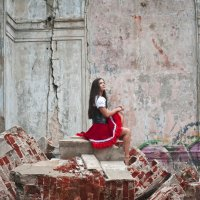 Red Riding Hood :: Женя Скопинова