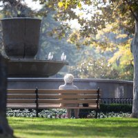 Отшумели фонтаны, пожелтели платаны... :: Mihail Mihaylov