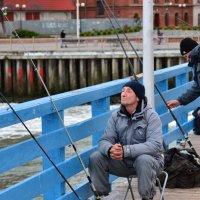 На рыбалке :: Леонид Иванчук
