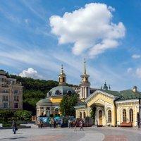 Киев, на площади у речного вокзала. :: Виктор Иванович