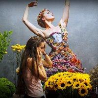 разговор с цветами :: Олег Лукьянов