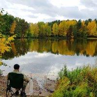 Осенняя рыбалка :: Александр Михайлов