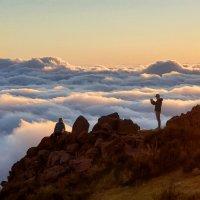 Восход на Пику-ду-Ариэйру (Pico do Arieiro), Мадейра :: Анастасия Богатова