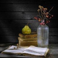 Книги и груша :: Алексей Мезенцев