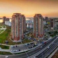 Хабаровск, вечер в микрорайоне на Флегонтова :: Игорь Сарапулов