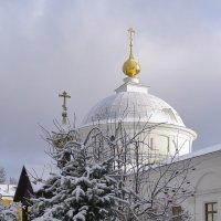 Зима подразнила и ушла... Несколько дней назад, в Казанском монастыре Ярославля :: Николай Белавин