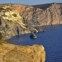 АХ, море, мыс Фиолент, о Крым... :: Марина Волкова