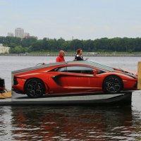 Водный автомобиль :: Юрий Моченов