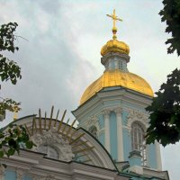 Башенка Никольского морского собора :: Сергей Карачин