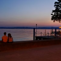 Тихий вечер на озере Гарда :: volk777600 Волков