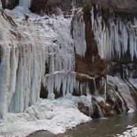 Водопад зимой :: MPS