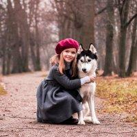 Человек собаке друг.. :: Фотограф Ирина Белянина