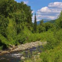 Речка в горах :: Сергей Чиняев